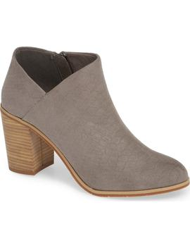 Kettle Block Heel Bootie by Bc Footwear