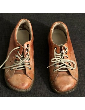 Dr. Martens Orange Vintage Women's Shoes by Dr. Martens