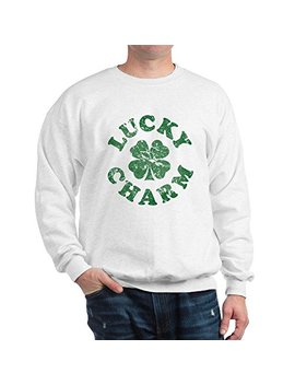 Cafe Press Lucky Charm [Vintage] Classic Crew Neck Sweatshirt by Cafe Press