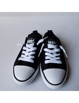 Levi's Women's Stan G Black Canvas Sneaker Sz 6.5 by Levi's