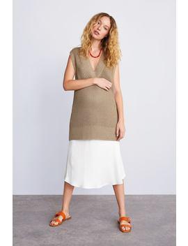 Knit Vest  View All Knitwear Woman by Zara