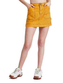 urban-outfitters-twill-carpenter-miniskirt by bdg