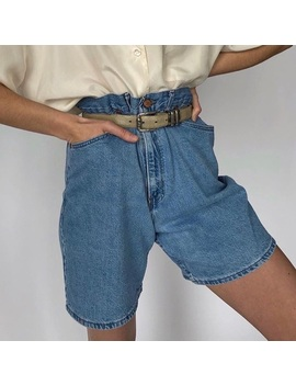 Vintage High Waisted Real Deal Mom Shorts by Lee