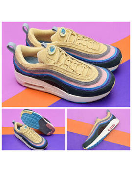 Brand New 97 Sean Wotherspoon Men Running Shoes Top 97s Sports Sneakers 40 45 by None