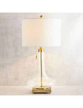 Victoria Glass Table Lamp by Pier1 Imports