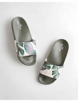 Tropical Slide Sandal by Hollister