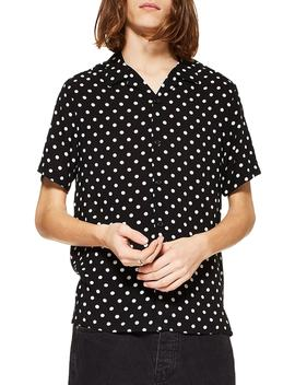 Polka Dot Camp Shirt by Topman