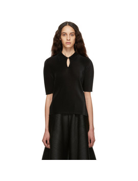 Black Mist March Polo by Pleats Please Issey Miyake