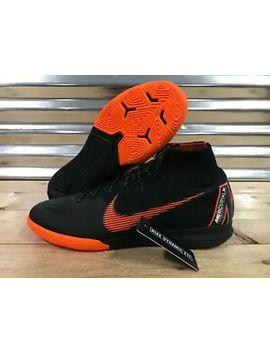 Nike Mercurial Superfly X 6 Elite Indoor Ic Soccer Shoes Black Sz ( Ah7373 081 ) by Nike