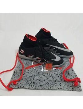 Nike Hypervenom X Proximo Njr Ic Neymar X Jordan Black/Metallic Sz 11 by Nike
