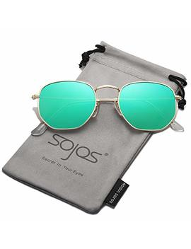 sojos-small-square-polarized-sunglasses-for-men-and-women-polygon-mirrored-lens-sj1072 by sojos