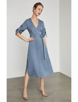 Faux Wrap Trench Dress by Bcbgmaxazria