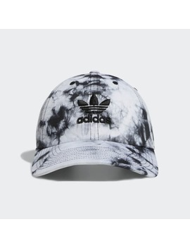 Relaxed Tie Dye Strap Back Hat by Adidas