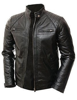 abbraci-mens-motobiker-vintage-shade-cafe-racer-quilted-motorcycle-padded-shoulder-wax-real-lambskin-leather-jacket by abbraci