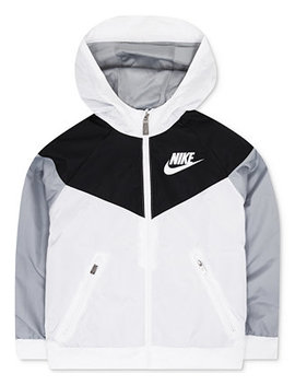 Windrunner Hooded Colorblocked Jacket, Little Boys by Nike