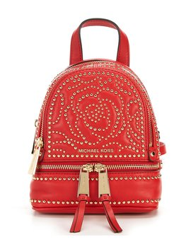 Rhea Extra Small Messenger Backpack by Michael Michael Kors