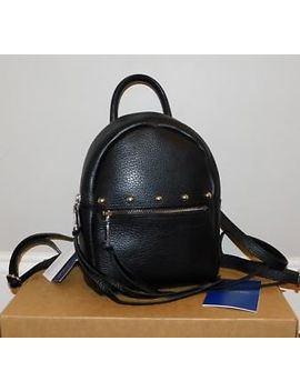$295! New Nwt Rebecca Minkoff Madison Small Black Leather Backpack Handbag Purse by Rebecca Minkoff