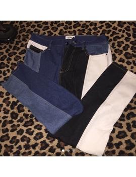 Daya By Zendaya Patchwork Jeans ! by Daya By Zendaya