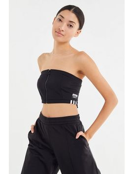 Adidas Originals Reveal Your Voice Tricot Zip Front Bra Top by Adidas