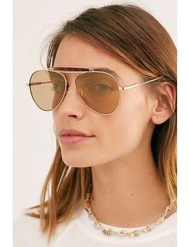 Nara Aviator Sunglasses by Free People