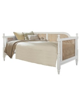 Melanie Upholstered Daybed Twin White Fabric   Hillsdale Furniture by Hillsdale Furniture