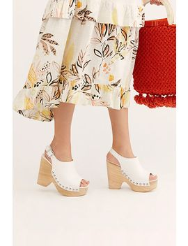 Walk The Line Clog by Free People