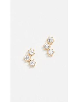 Trinity Stud Earrings by Shashi