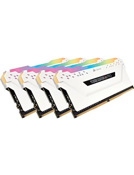 Corsair Vengeance Rgb Pro 32 Gb (4x8 Gb) Ddr4 3200 M Hz C16 Led Desktop Memory   White by Corsair