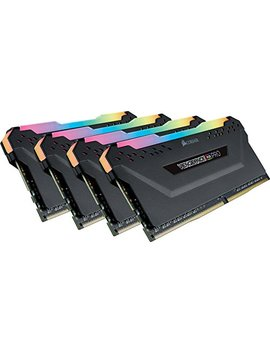 Corsair Vengeance Rgb Pro 32 Gb (4x8 Gb) Ddr4 3200 M Hz C16 Led Desktop Memory   Black by Corsair