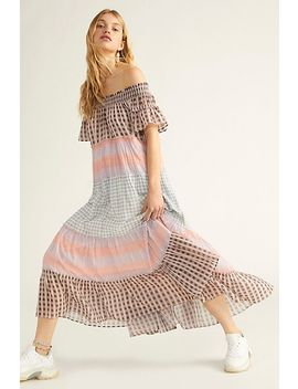 Something Real Plaid Maxi Dress by Free People