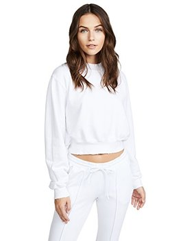 Cotton Citizen Women's Milan Cropped Sweatshirt by Cotton Citizen