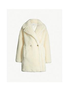 Paige Faux Fur Coat by Topshop