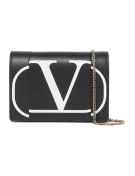 Valentino Garavani Printed Leather Shoulder Bag by Valentino
