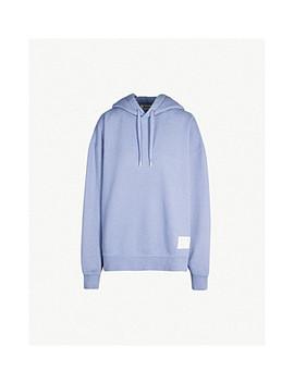 Fyona Oversized Cotton Jersey Hoody by Acne Studios