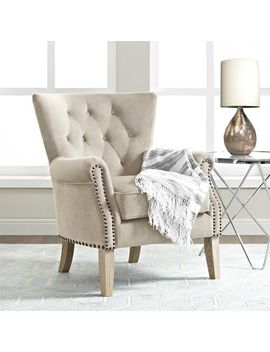 Tufted Beige Chair by Pier1 Imports