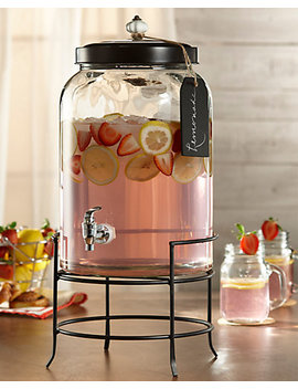 Jay Imports Franklin 3gal Beverage Dispenser & Stand by Jay Imports