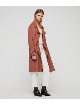 Brooke Trench Coat by Allsaints