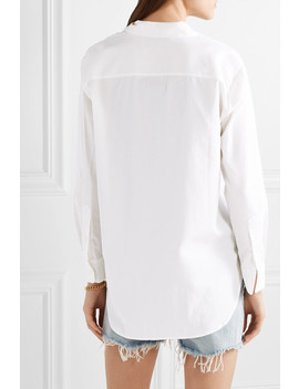 Oversized Cotton And Modal Blend Shirt by Madewell