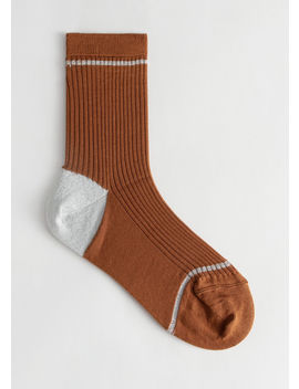 Stripe Ankle Socks by & Other Stories