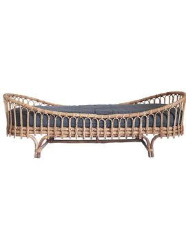 Kistner Rattan Daybed With Mattress by Bungalow Rose