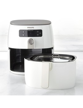 Philips Airfryer With Turbo Star Avance, White by Williams   Sonoma