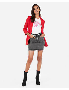 Express One Eleven Girl Power Easy Tee by Express