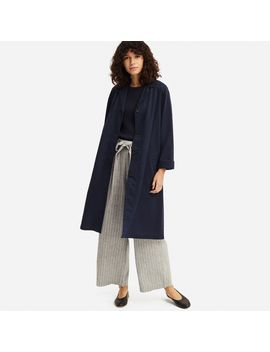 Linen Blended Coat by Uniqlo