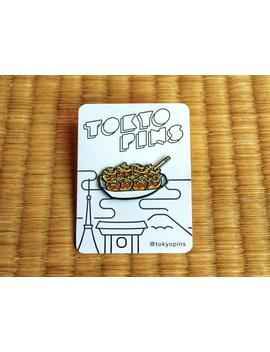 Takoyaki Soft Enamel Pin by Etsy