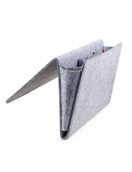 Kikkerland® Large Bedside Felt Storage Pocket In Grey by Bed Bath And Beyond