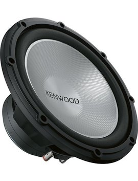 "Performance Series 12"" Single Voice Coil 4 Ohm Subwoofer   Black by Kenwood"