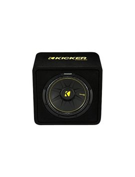 Comp C Loaded Enclosures Single Voice Coil 4 Ohm Subwoofer   Black Carpet by Kicker