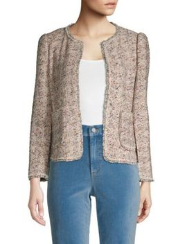 Speckled Tweed Jacket by Rebecca Taylor