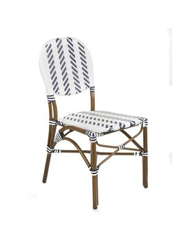 Café Bistro Indoor/Outdoor Rattan Dining Chair by Generic