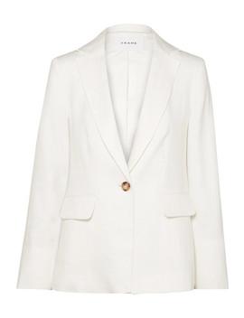 Classic Fine Linen Blend Blazer by Frame